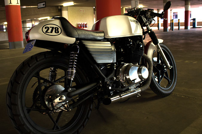 suzuki cafe racer builtv-customs