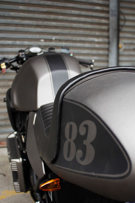 Grey Bmw  Cafe Racer
