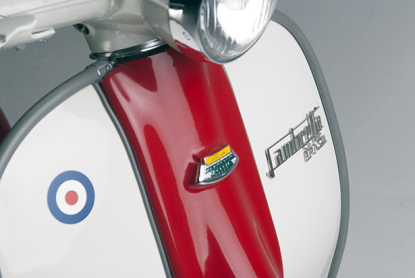 Lambretta Badge detail LR