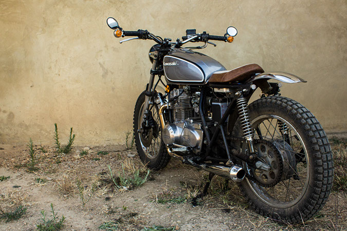Desert Sled Inspired Kawasaki KZ400 AltMotoCult