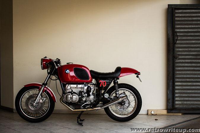 BMW R60/5 cafe racer