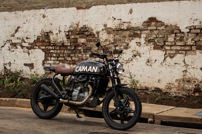 We Have Showcased A Variety Of CX500 Based Cafe Racers And Brat Bikes Our Featured Motorcycle Is An Even More Improbable Version The CXa Scrambler